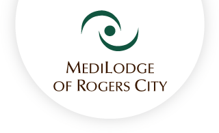 Medilodge of rogers city web logo